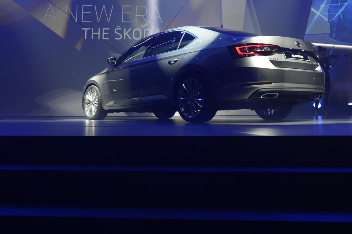 Škoda Superb třetí generace