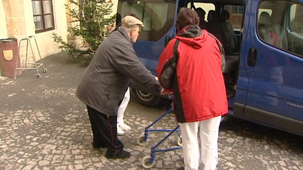 Stěhování klientů domova - prosinec 2011