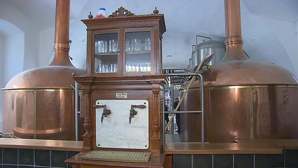 Vybavení pivovaru v Břevnově