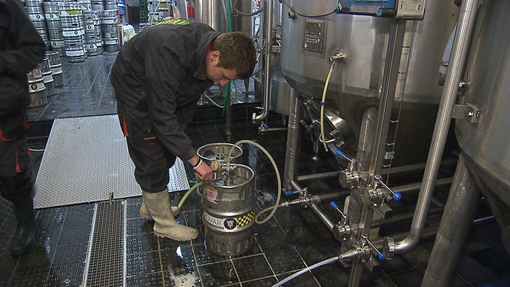Z pivovaru v Břevnově