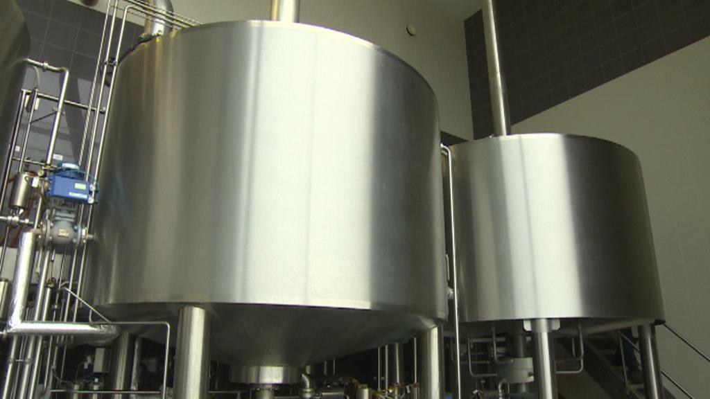 Vybavení pivovaru v Chotěboři
