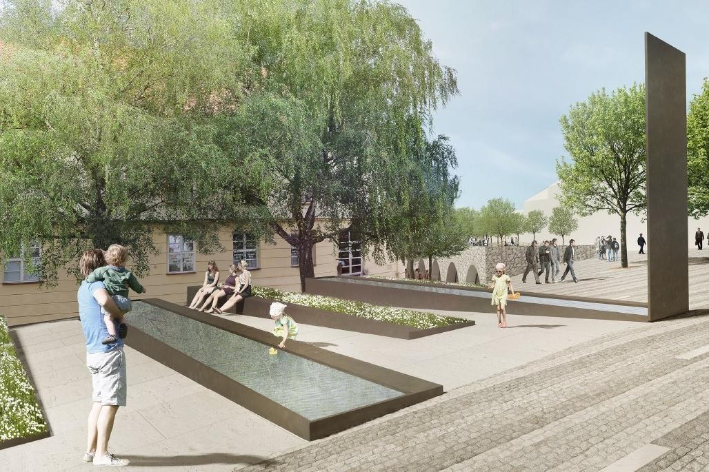 Vizualizace Mikulovského náměstí