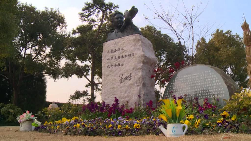 Číňané na náhrobcích nešetří