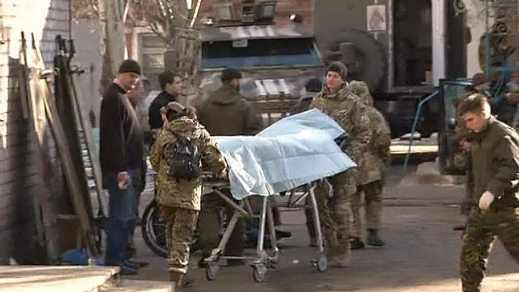 Oběť bojů na Ukrajině