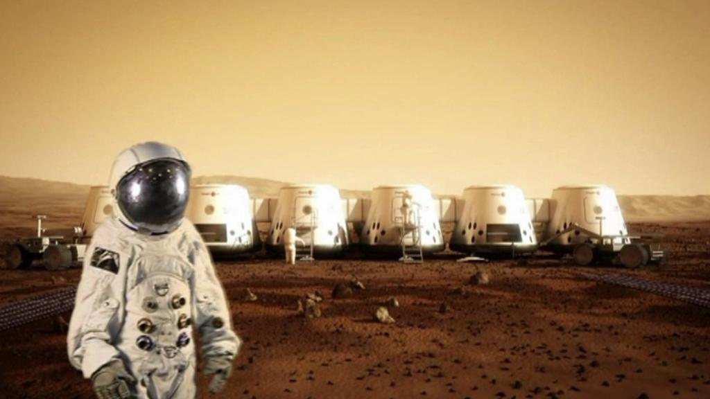 Vizualizace základen na Marsu