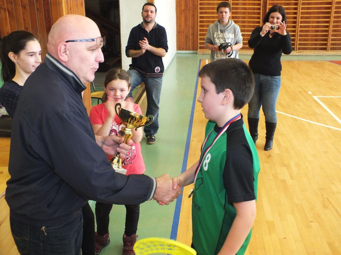 Florbalový turnaj v Boskovicích