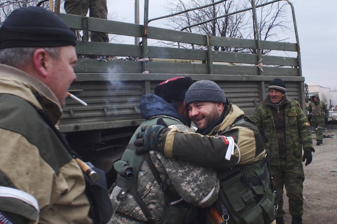 Ukrajinci se stáhli z Debalceve
