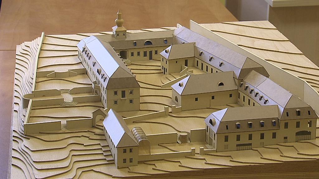 Model rekonstrukce usedlosti Cibulka