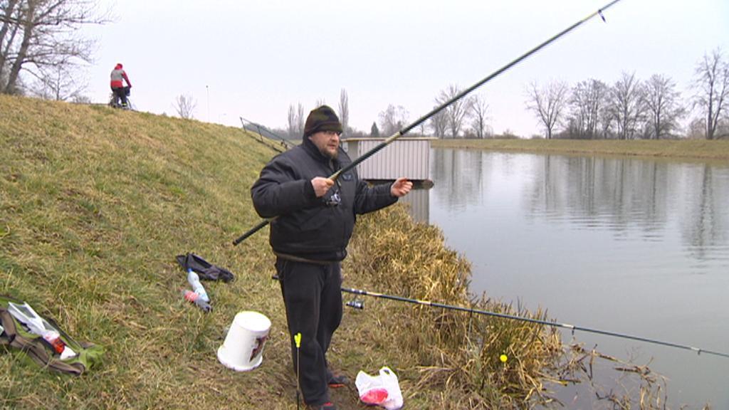 Rybář na Pardubicku