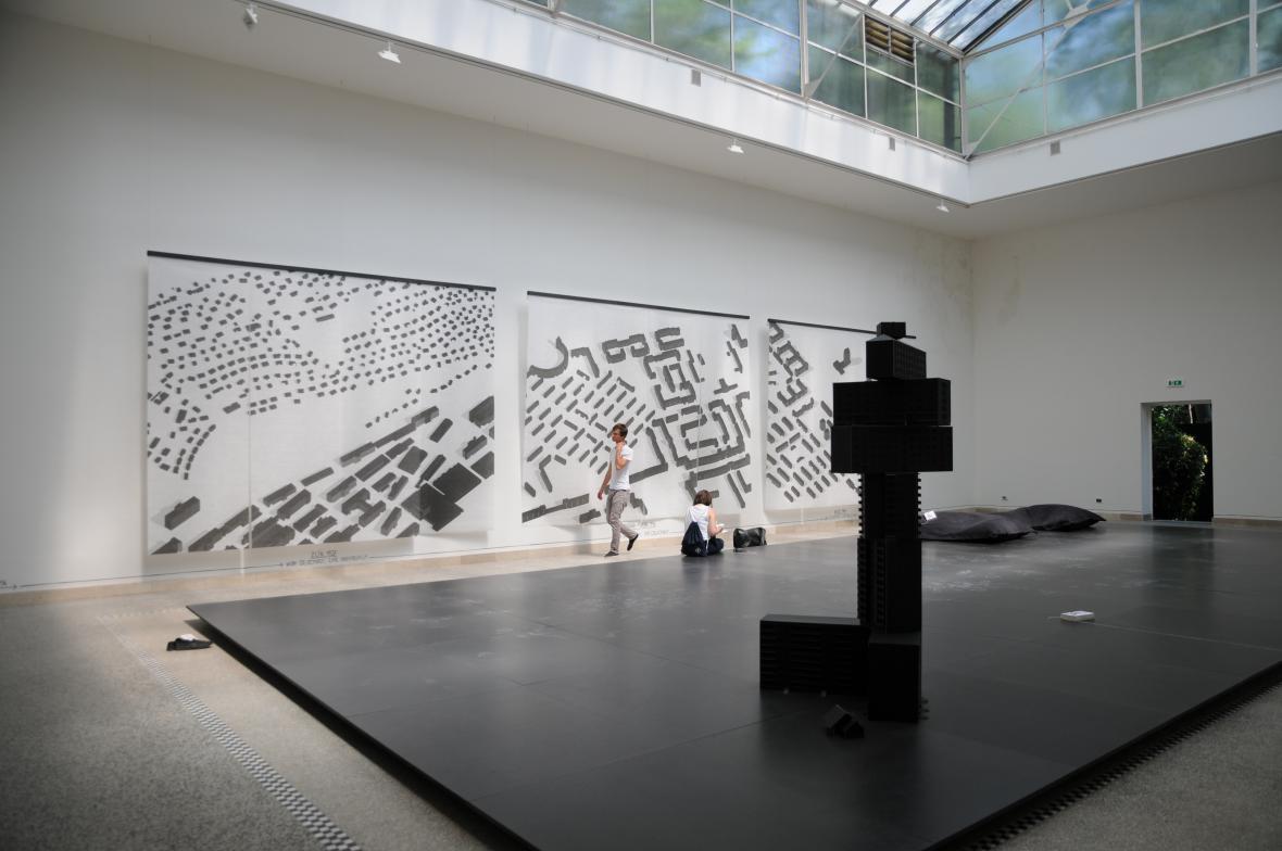 Bienále architektury v Benátkách 2014 - česko-slovenský pavilon