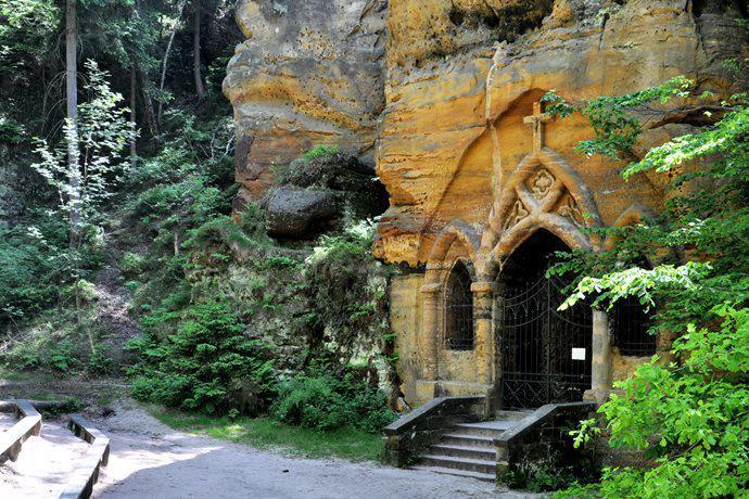 Modlivý důl ve Svojkově