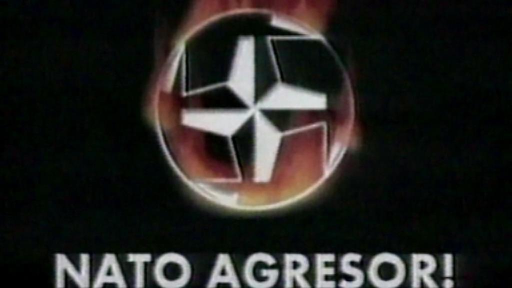 Srbská propaganda během náletů NATO