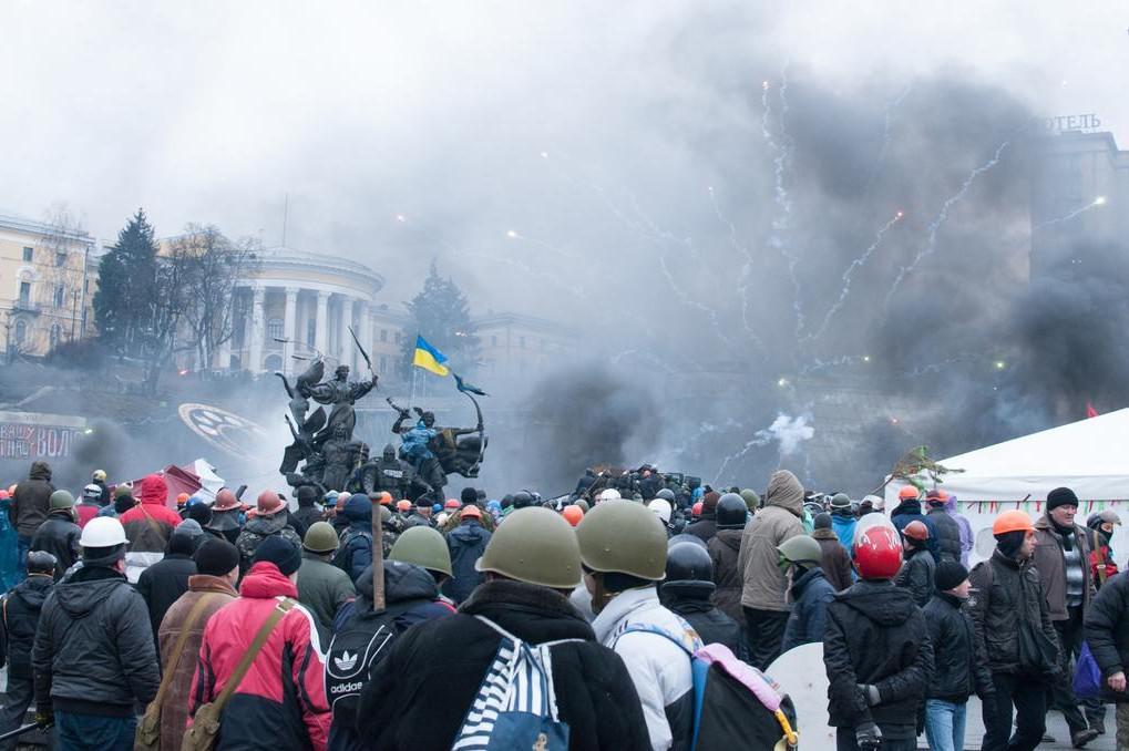 Rok od Majdanu