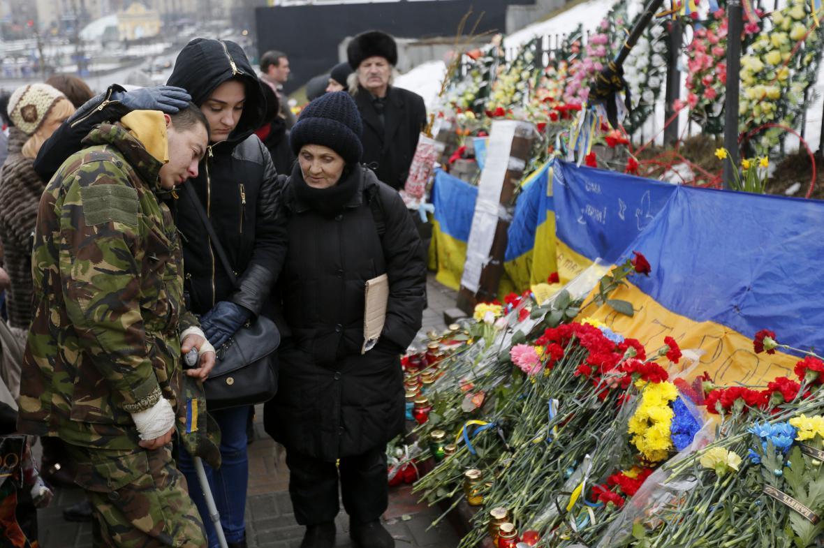 První výročí událostí na Majdanu