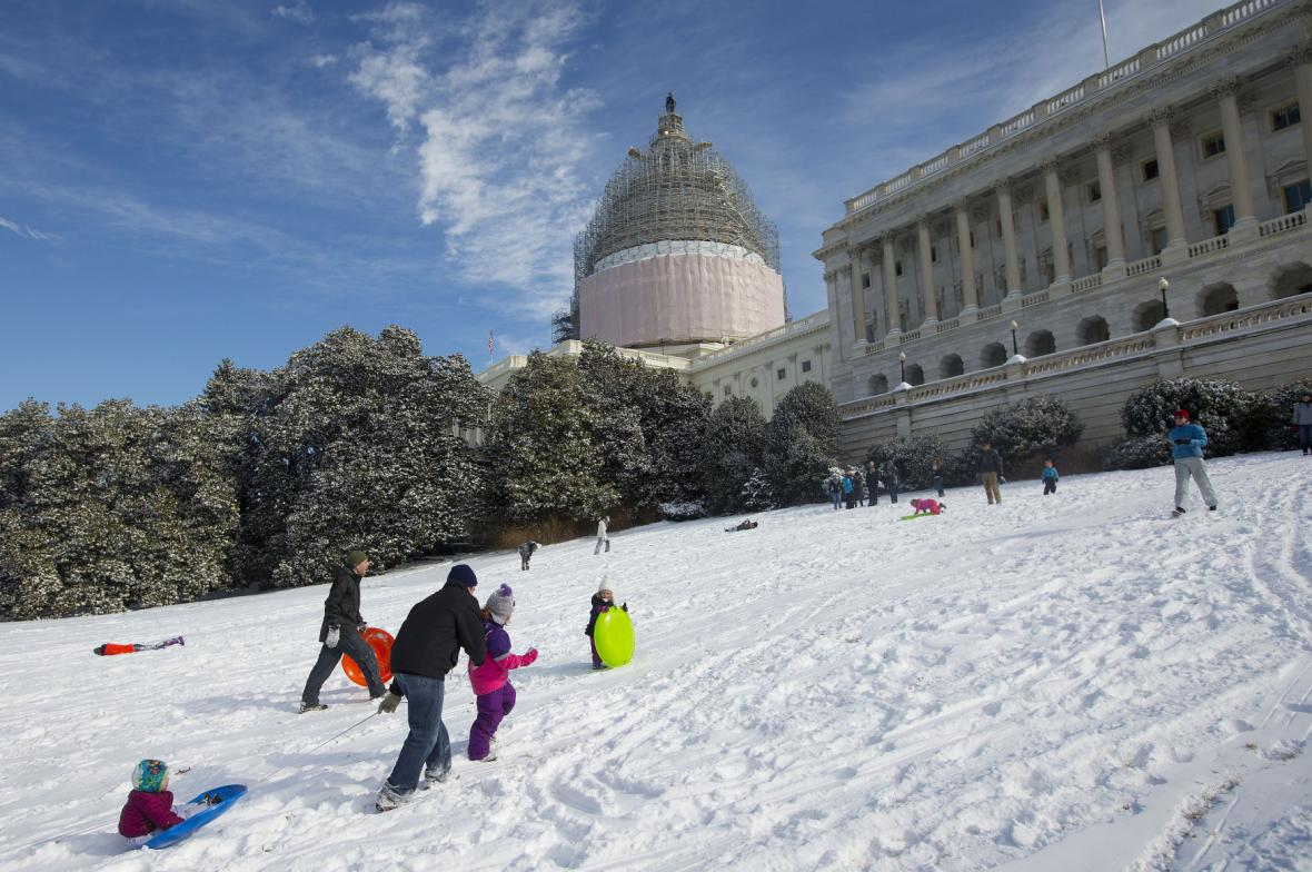 Mráz ve Washingtonu