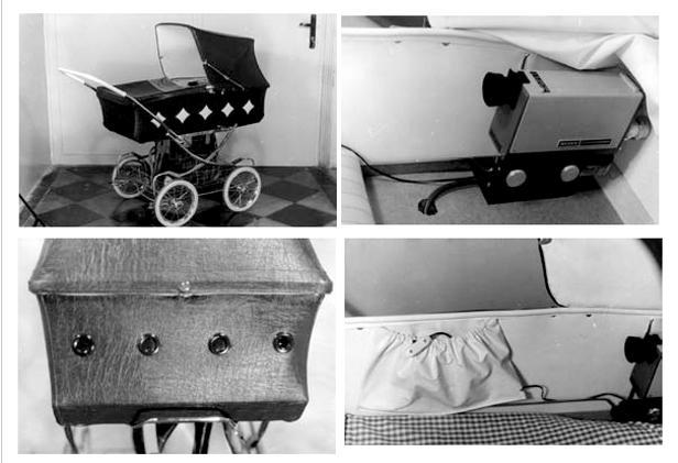 Fotografie z archivu StB - fotografování ze sledovacího vozu