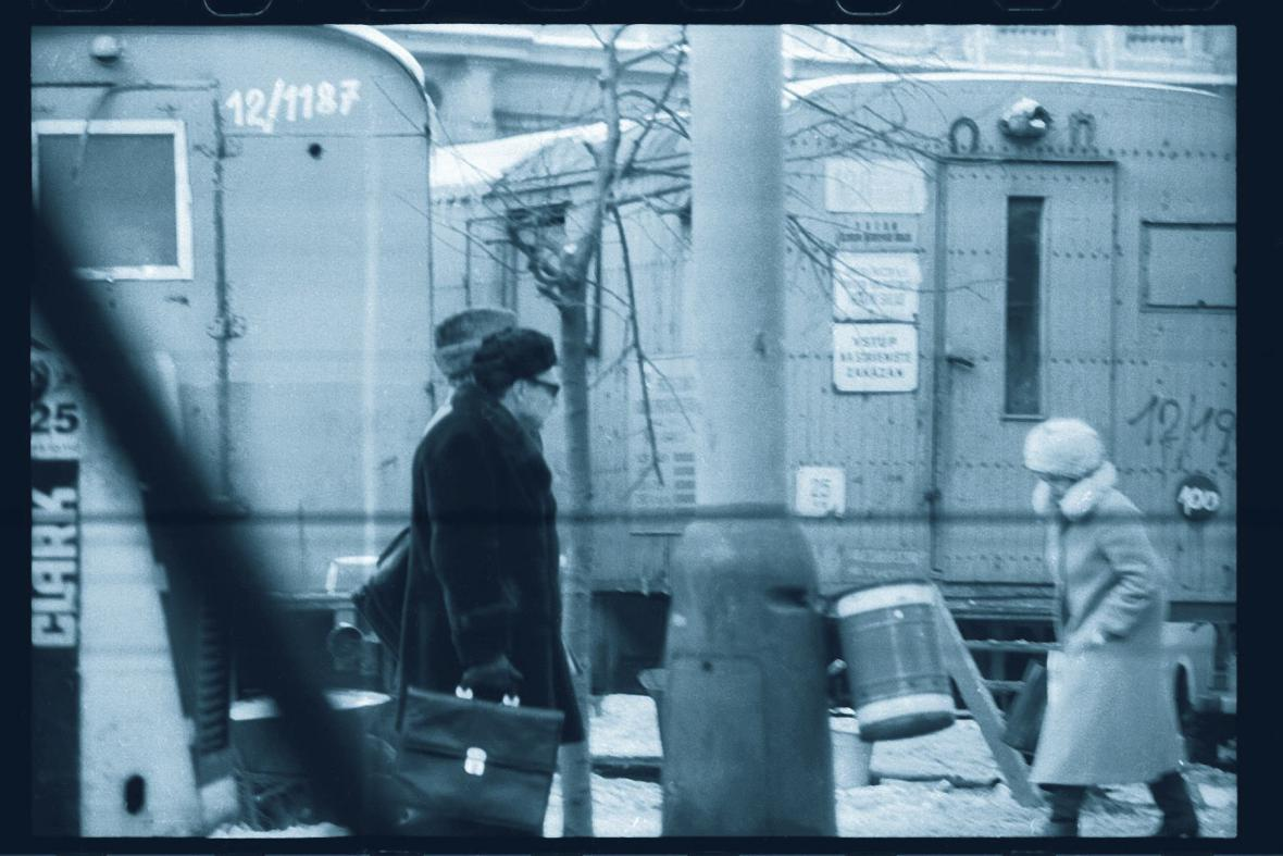 Fotografie z archivu StB - objekt Milan 2