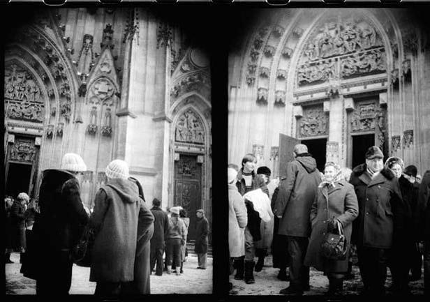 Fotografie z archivu StB - případ Palác 1