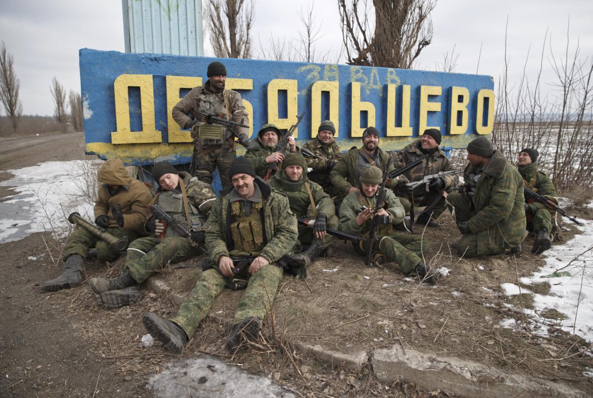 Ukrajinské Debalceve po bojích