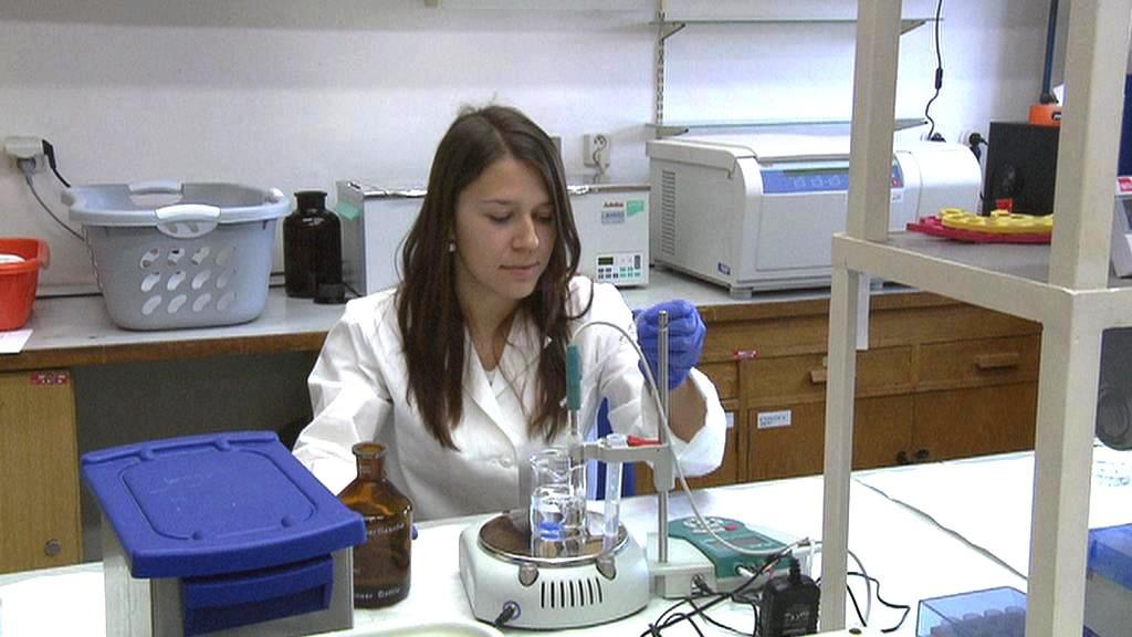 Mladá vědkyně