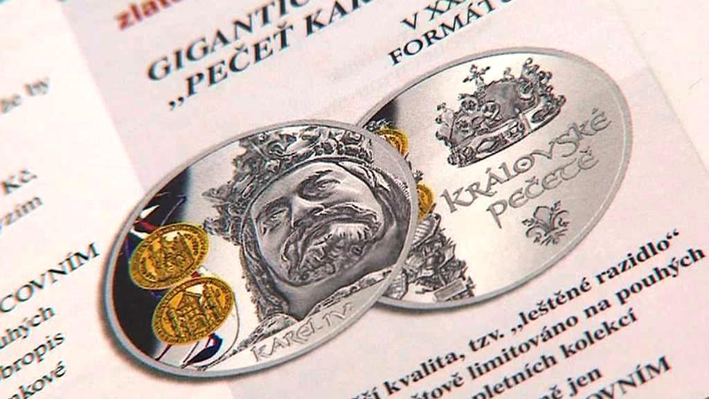 Švýcarská firma nabízí poštou pamětní medaile