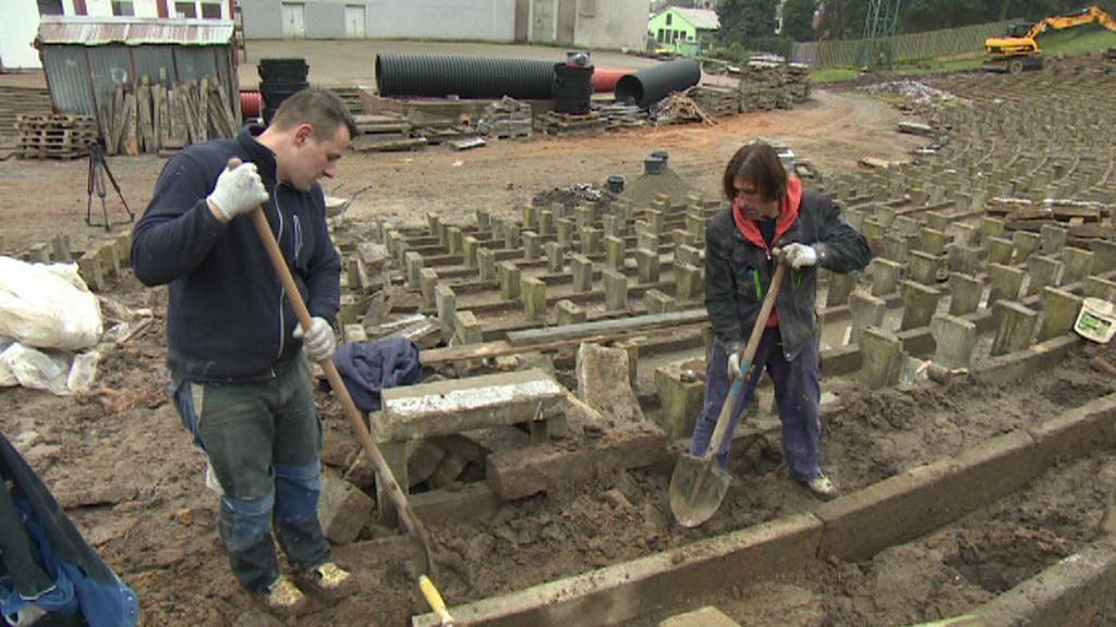 Rekonstrukce lochotínského amfiteátru