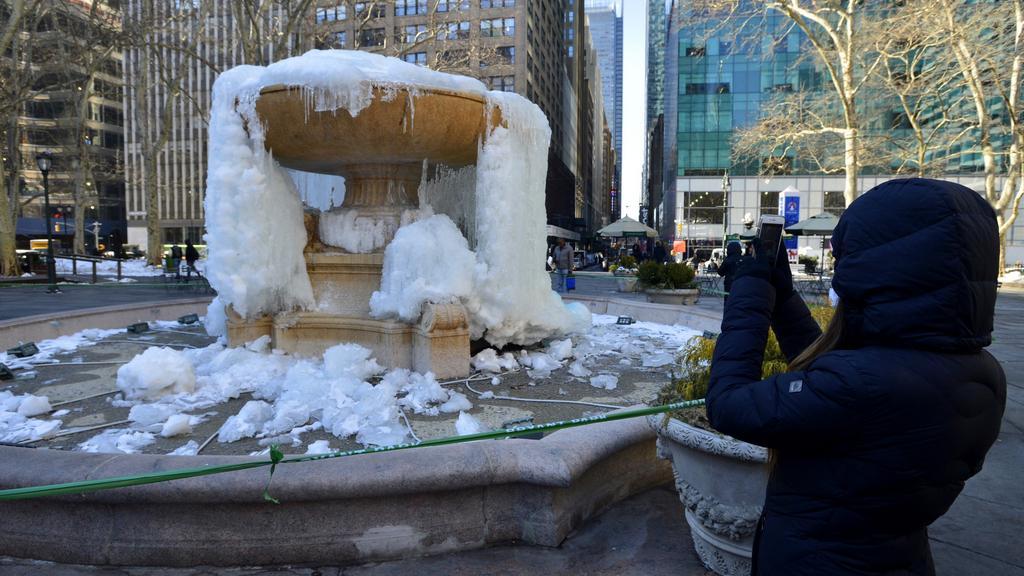 Chladné dny v New Yorku