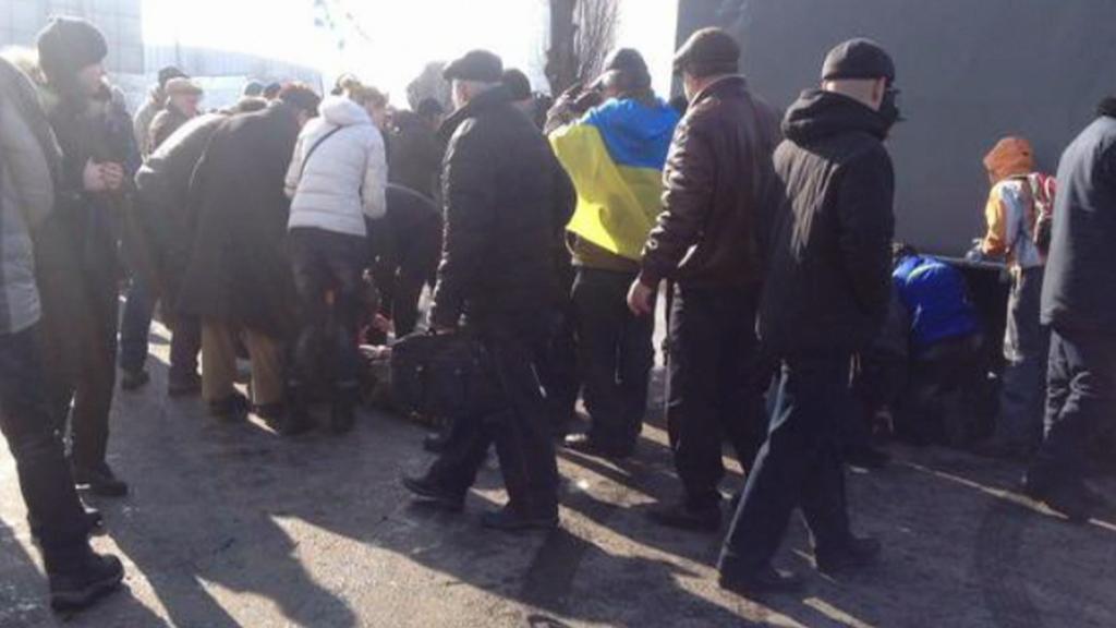 Výbuch v Charkově