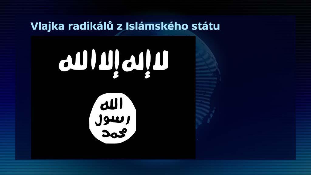 Vlajka radikálů z Islámského státu