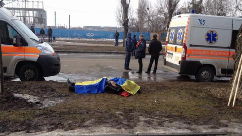 Výbuch v Charkově zabil několik lidí