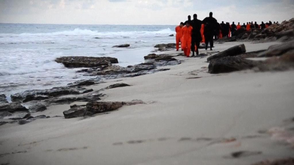 Vražda 21 koptů