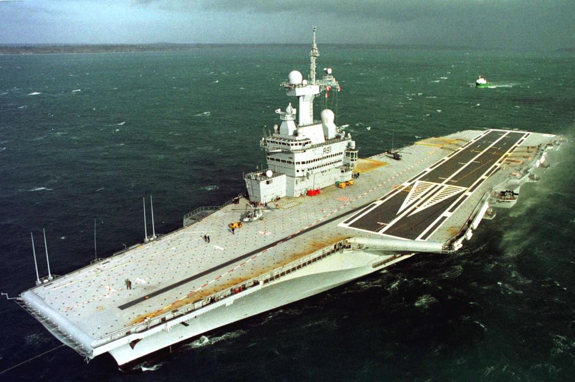 Letadlová loď Charles-de-Gaulle