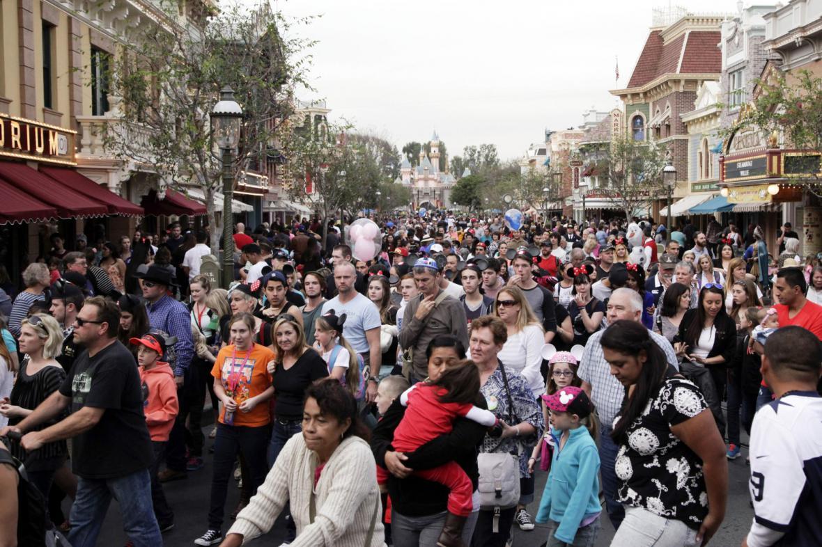 Disneyland v Anaheimu