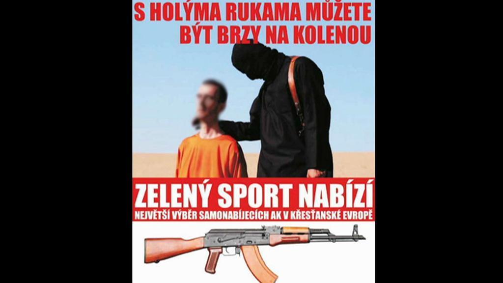 Reklama Martina Rudolfa ve Střelecké revue