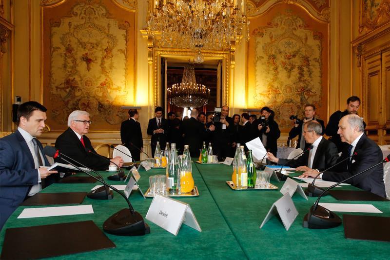 Pařížská schůzka ministrů zahraničí Francie, Německa, Ukrajiny a Ruska