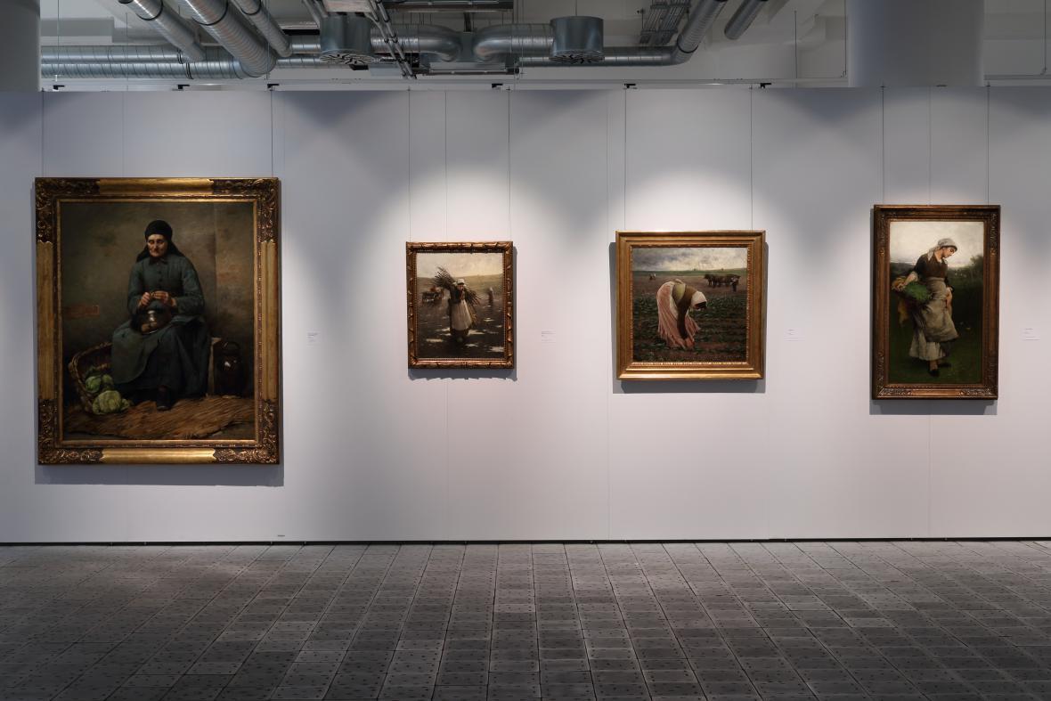 Výstava Jakub Schikaneder: Od svědectví k obrazovému snění