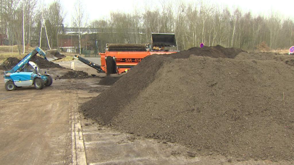 Kompostárna a uskladněný bioodpad