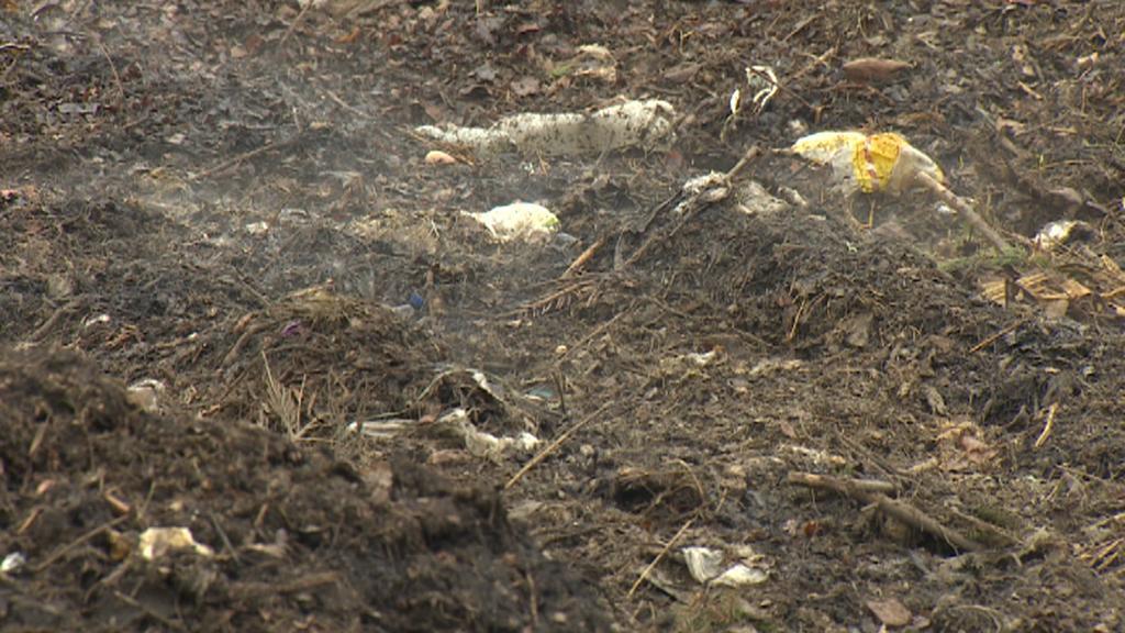 Bioodpad v kompostárně