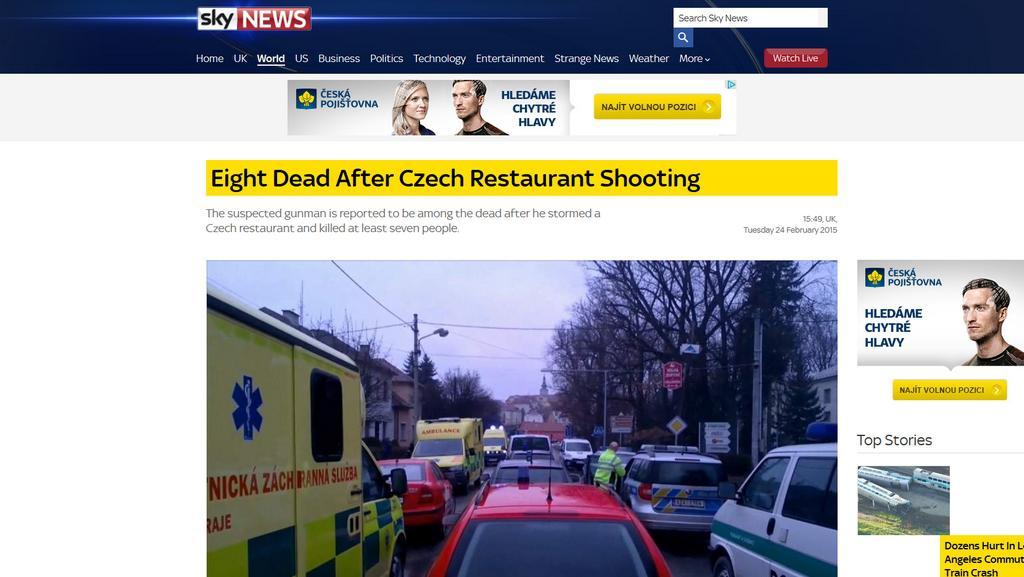 Z webu televize SkyNews