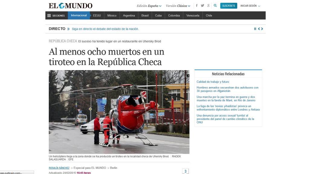 Španělský deník El Mundo