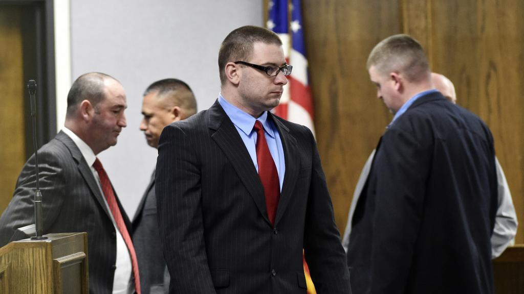 Eddie Routh před soudem
