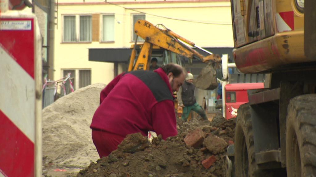Oprava Komenského ulice v Přešticích