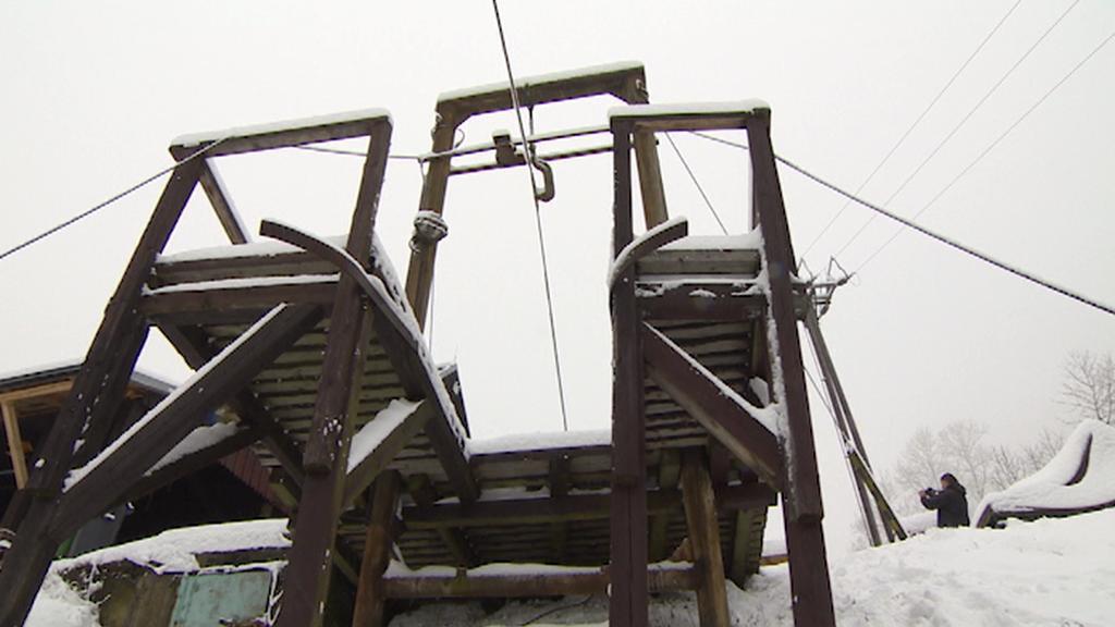 Lanovka u chaty Bumbálka