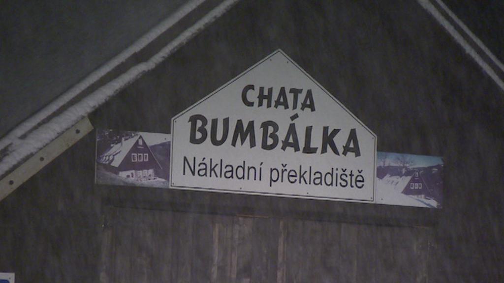 Překladiště pro lanovku na Bumbálku