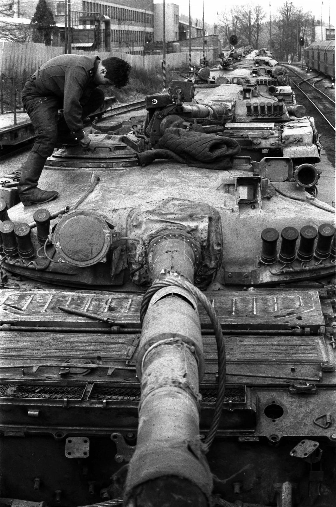 Odsun Sovětů - Frenštát pod Radhoštěm