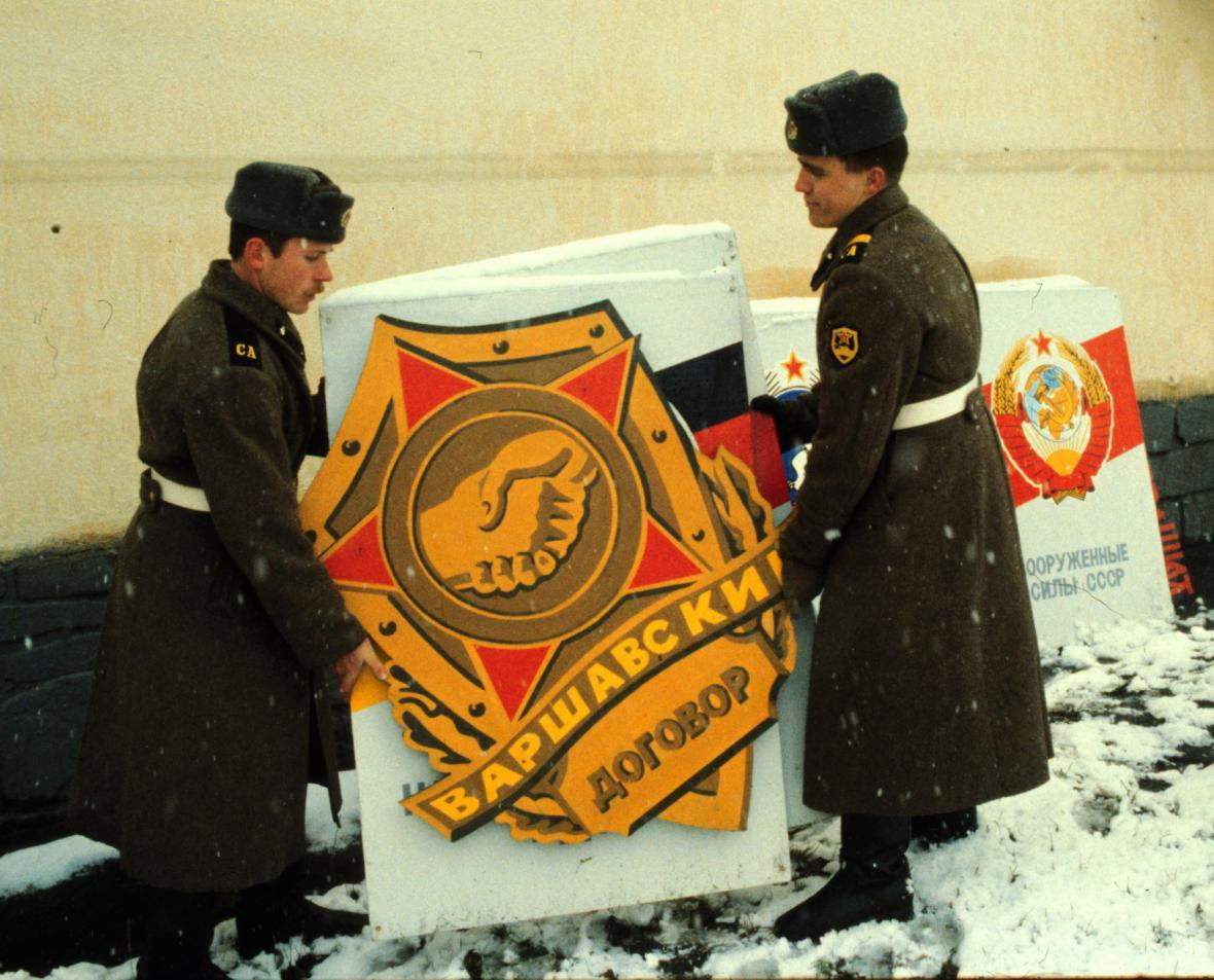 Odsun sovětských vojsk - Frenštát pod Radhoštěm