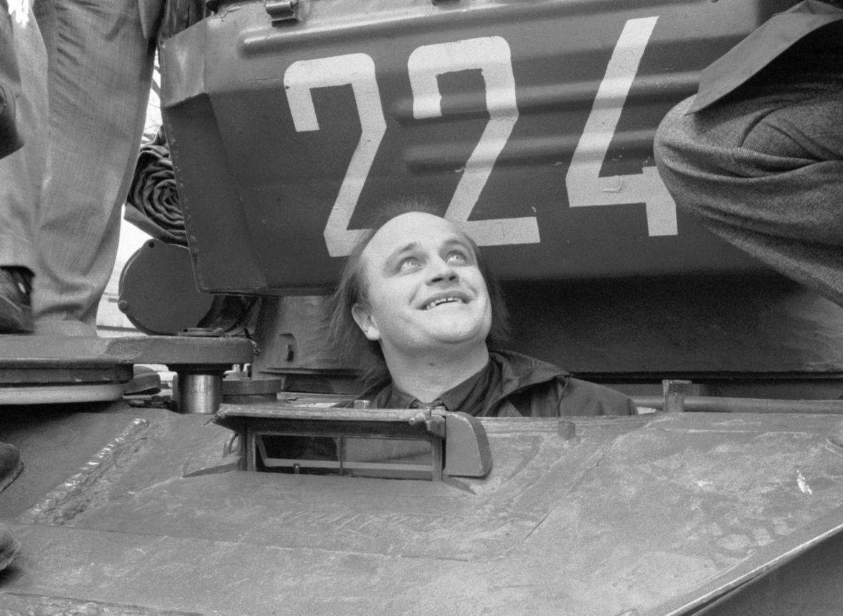 Odsun sovětských vojsk - Michael Kocáb