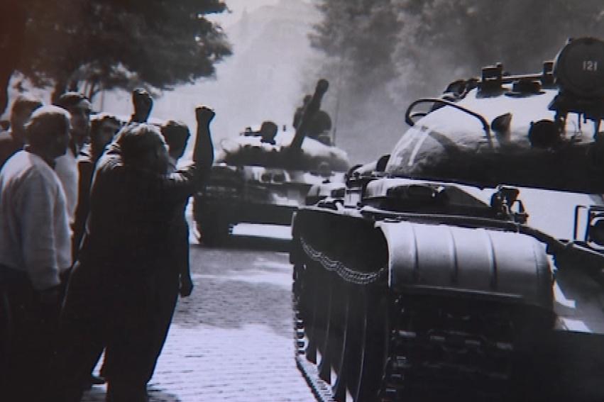 Historické fotografie 21. srpna v Hodoníně