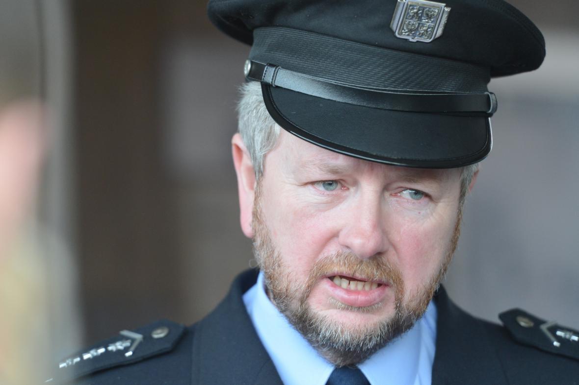 Ředitel policie ve Zlínském kraji Jaromír Tkadleček