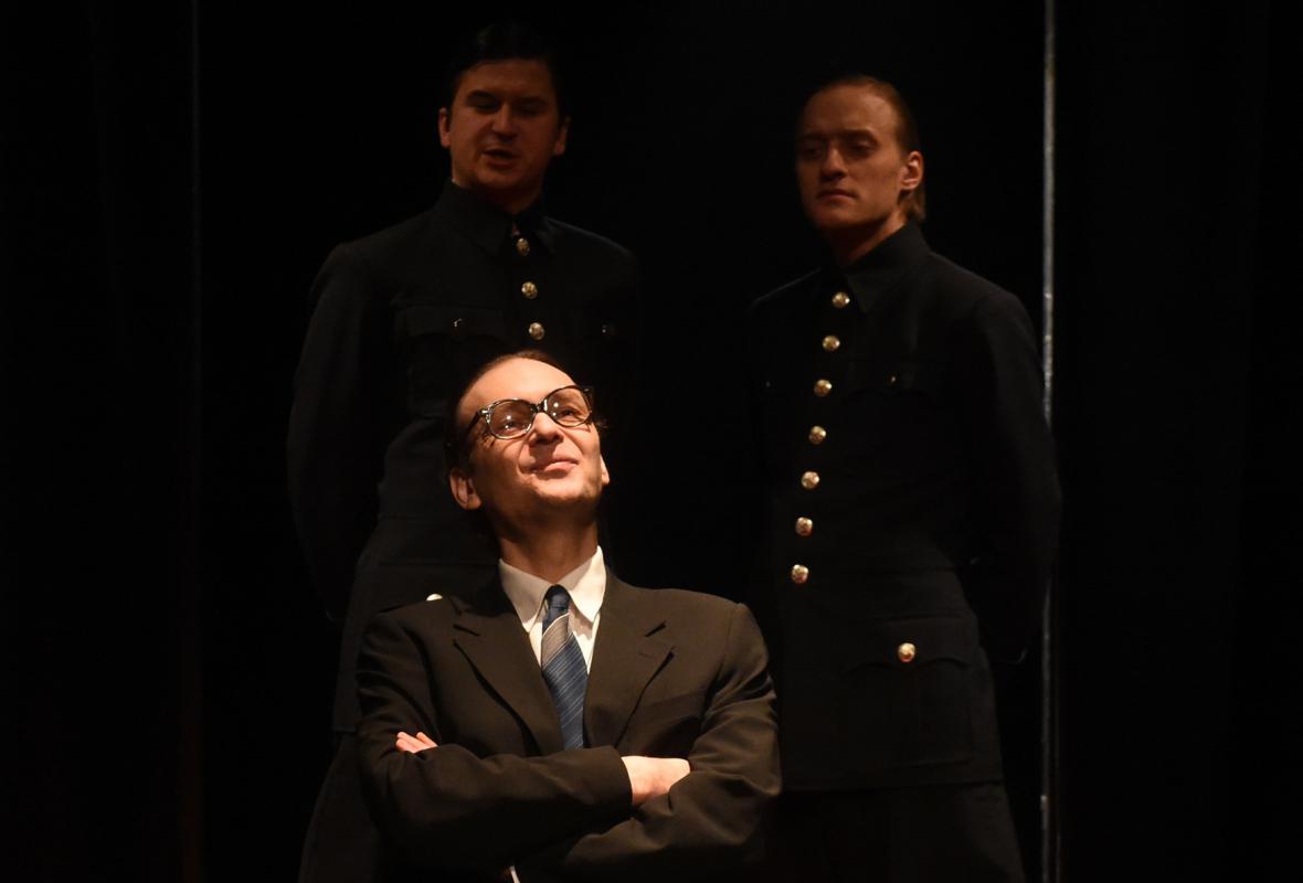Hra Slyšení - Komorní scéna Aréna